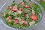 conveganence blog - strawberry rhubarb salad