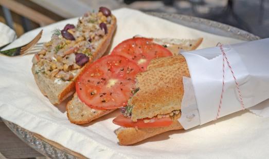 Vegan Nicoise Sandwich - conveganence blog