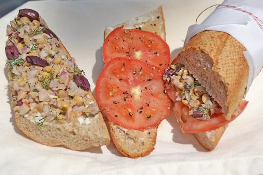 Vegan Nicoise Sandwich2 - conveganence blog